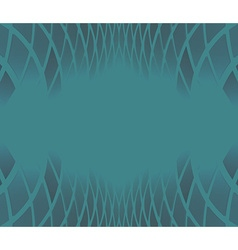 ornate background blue vector image