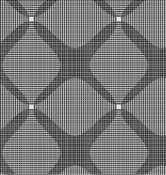 Shades of gray dark and light striped four foil vector