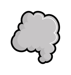 Smoke icon Fog design graphic vector image
