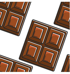 switzerland traditional food chocolate bar vector image