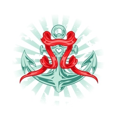Tattoo Anchor vector