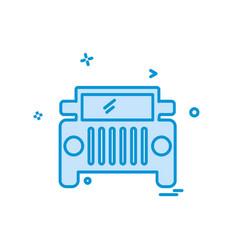 trasnport icon design vector image