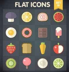 Universal Flat Icons for Applications Set 19 vector