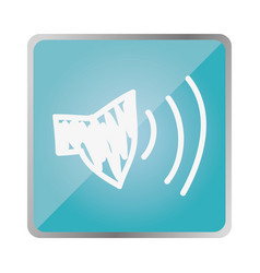 symbol volume technology icon vector image