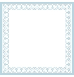 Card with ornament vector