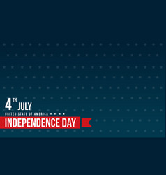Blue background style independence day vector