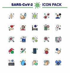 covid19 corona virus contamination prevention vector image