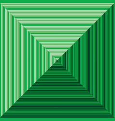 Green pyramid background vector
