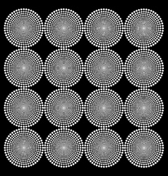 Hypnotic circles vector image