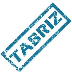 Tabriz rubber stamp vector image