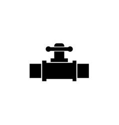 valve icon bathroom and sauna element icon vector image