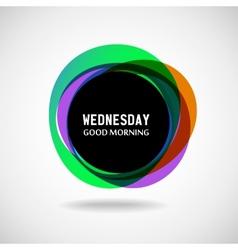 Wednesday vector