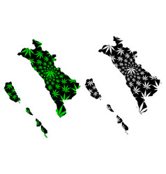 west sumatra subdivisions indonesia provinces vector image