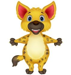 Hyena cartoon vector image