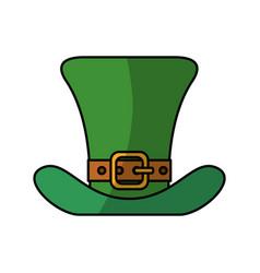 irish elf hat vector image vector image