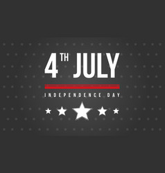Banner style celebration independence day vector
