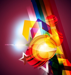 beautiful background vector image