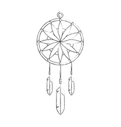 Dream catcher symbol vector