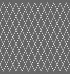 geometric grid cell rhombus pattern background vector image