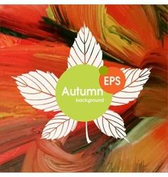 Magic Autumn Background vector image