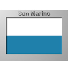 San marino flag sketches vector