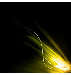 Smooth light lines vector image vector image