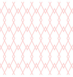 Tile pattern with pink and white background vector