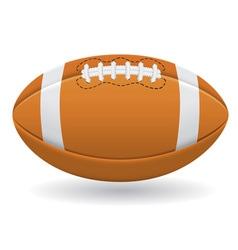 ball for american football vector image