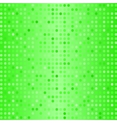 Dots on Green Background Halftone Texture vector image
