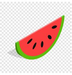 watermelon isometric icon vector image