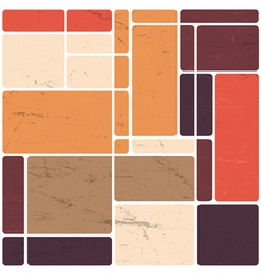 abstract block template design vector image