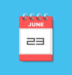 Calendar icon flat art vector