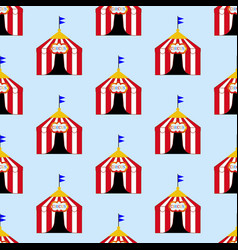 circus tent pattern vector image