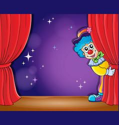 Clown thematics image 2 vector