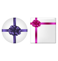 gifts with bow vector image