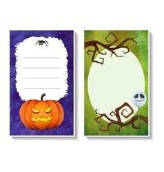 Halloween card templates3 vector