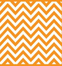 Orange white chevron retro decorative pattern vector
