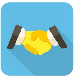 Partnership icon vector