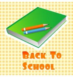 school books vector image