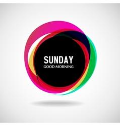 Sunday vector