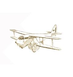 Aeroplane vector