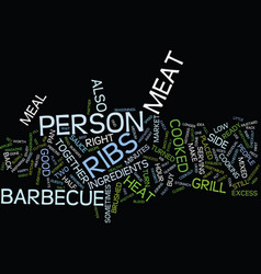 Barbecue sauce for a perfect barbeque text vector