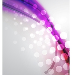 Beautiful abstract wave background vector image