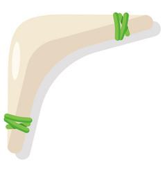 Boomerang flat vector