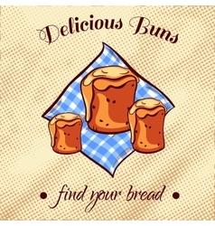 Bread On A Napkin 16 vector