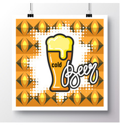 food icons poster 17 vector image