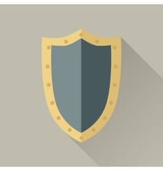 Game object warrior shield vector