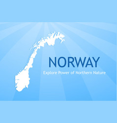 logo of norway vector image