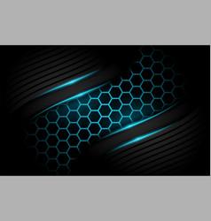 Modern dark navy background 3d abstract style vector