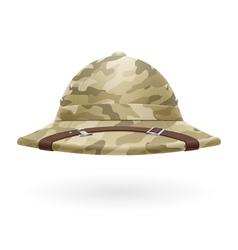 Pith helmet vector